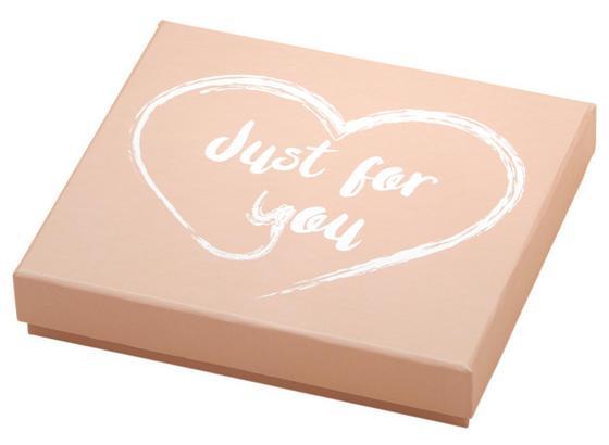 Dárkový Box Ella - bílá/světle růžová, Trend, karton/papír (11,2/10/2,5cm) - Mömax modern living