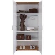 Einlegebodenset Twin 2er Set - Weiß, KONVENTIONELL, Holzwerkstoff (82/1,5/46,5cm)
