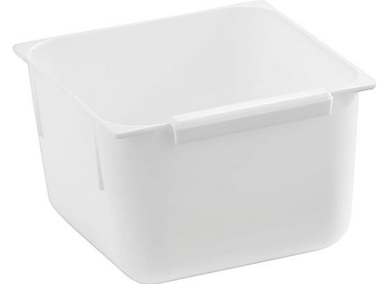 Príborník Biely - biela, plast (7,5/7,5/5cm)