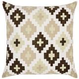 Zierkissen Easy Ethno - Beige, ROMANTIK / LANDHAUS, Textil (50/50cm) - James Wood
