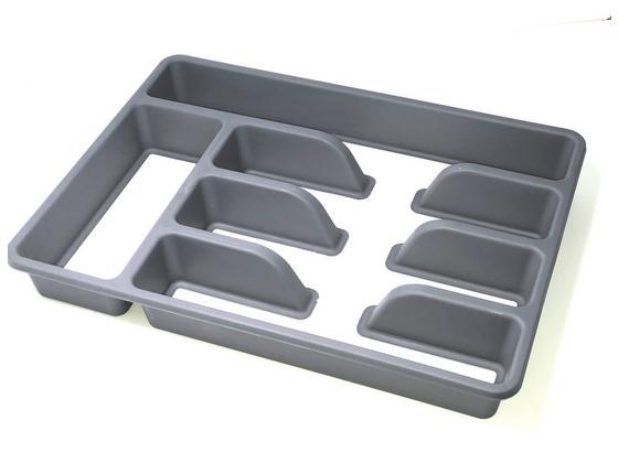 Príborník Josef - sivá, plast (36/26,5/5cm) - Mömax modern living