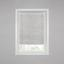 Plissee Luzia - Silberfarben, MODERN, Kunststoff (90/130cm) - Luca Bessoni