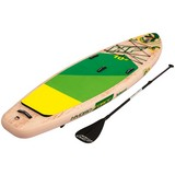 Stand-Up Paddle Board Hydro-force Kahawai - Gelb/Weiß, MODERN, Kunststoff/Metall (310/86/15cm) - Bestway