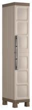 Kunststoffschrank Excellence Cabinet Schmal - Sandfarben/Grau, MODERN, Kunststoff (33cm) - Keter