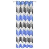 Ösenvorhang Holly - Blau, MODERN, Textil (140/245cm) - LUCA BESSONI