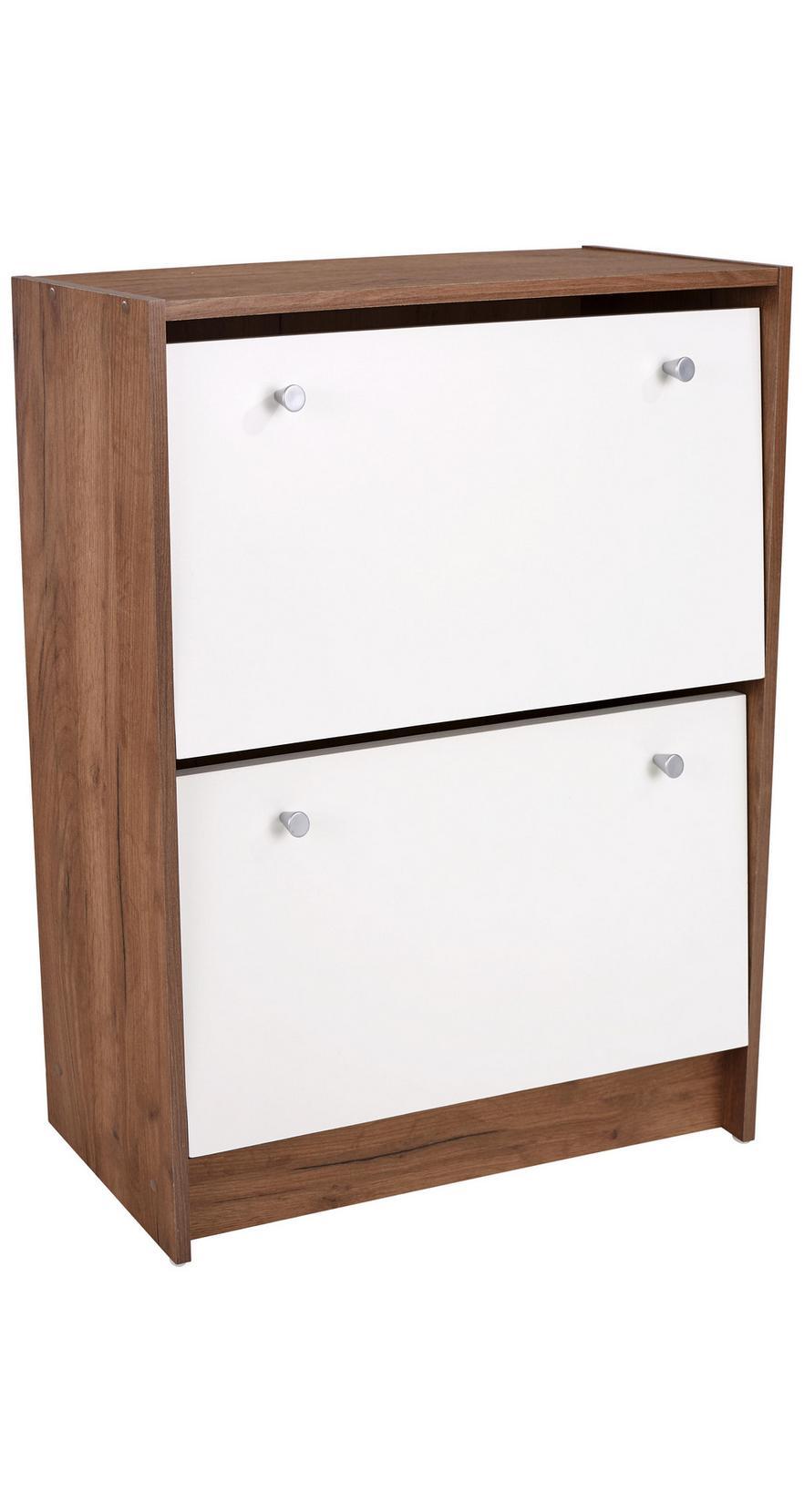 23233d5b2e32e Botník Kv01 *cenový Trhák* - farby dubu/biela, Moderný, drevo (