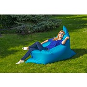 Outdoorsitzsack B52 XL Blau - Blau/Weiß, MODERN, Textil (170/130/40cm)