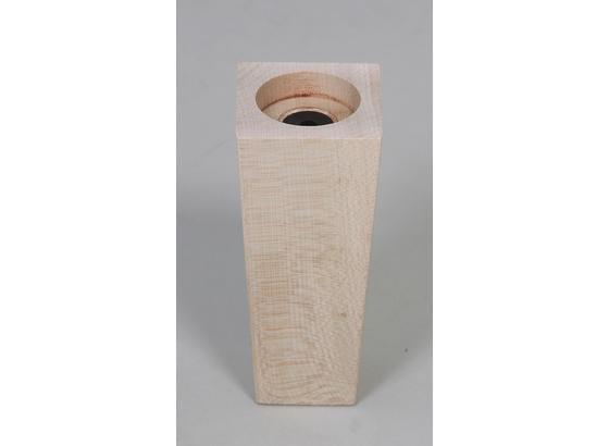 Fußset Möbelfuß H: 13 cm Buche - Buchefarben, Basics, Holz (13cm)