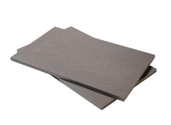 Einlegeboden F.ks Beluga Standard 2er - Dunkelgrau, Holzwerkstoff (65,6/2,2/51,5cm)