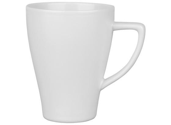 Hrnek Na Kávu Nele - bílá, Moderní, keramika (8,5/11cm) - Premium Living