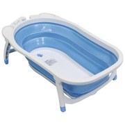 Babybadewanne 766562 - Blau/Weiß, MODERN, Kunststoff (82/47/22,5cm)