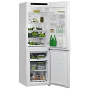 Kühl-Gefrier-Kombination W7 821i W - Weiß, Basics, Glas/Kunststoff (60,1/189/72,8cm) - Whirlpool