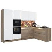 7b8bc26c8e03 Rohová Kuchyňa Las Vegas singapur - farby dubu biela
