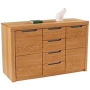 Sideboard Pure 23 - Eichefarben, KONVENTIONELL, Holz (164,6/92,3/43cm)