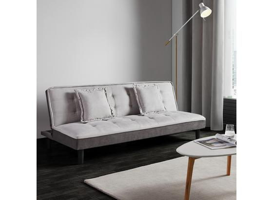 Rozkládací Pohovka Babette - šedá/světle šedá, Moderní, textil (183/70/82cm) - Modern Living