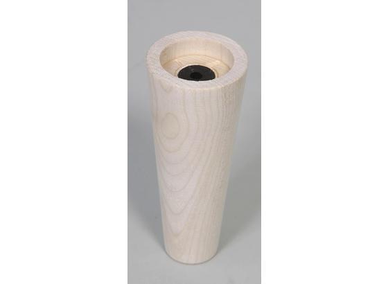 Fußset Möbelfuß H: 13 cm Ahorn - Ahornfarben, Basics, Holz (13cm)