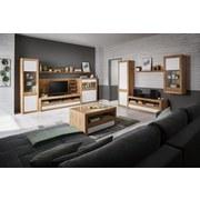 Wandboard Kashmir New B:120cm, Artisan Eiche Dekor - Eichefarben, MODERN, Holzwerkstoff (120/20/20cm) - James Wood