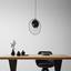 Svítidlo Závěsné Sun 164,5 Cm, 60 Watt - černá, Lifestyle, kov (41/164,5cm) - Modern Living