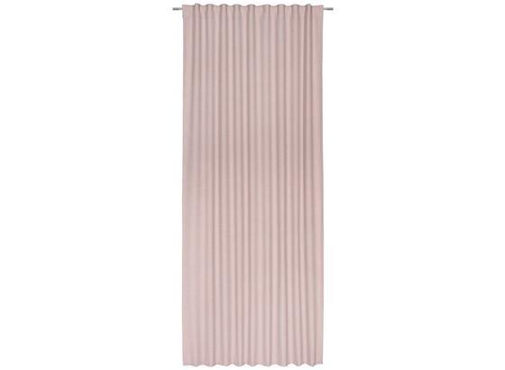 Závěs Leo -top- - růžová, textil (135/255cm) - Premium Living