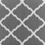 Outdoorteppich 150x200 Grau/Weiß - Weiß/Grau, MODERN, Kunststoff (150/200cm)