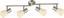 Strahler Pumba - Weiß, KONVENTIONELL, Glas/Metall (60/14cm) - Ombra