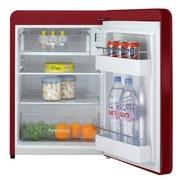 Bikitchen Kühlschrank Retro Cool 080 Rot - Rot, KONVENTIONELL, Kunststoff (49/72/54,90cm) - Bikitchen