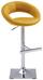Barhocker Crush Currygelb - Currygelb/Chromfarben, MODERN, Kunststoff/Metall (56/80-102/49cm)