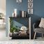 Nástenná Dekorácia Hygge I - prírodné farby/čierna, kompozitné drevo (20cm)