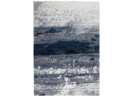 Tkaný Koberec Topas - modrá/světle šedá, Moderní (133/190cm) - Modern Living
