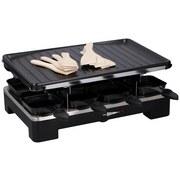 Raclette-Grill Cuisinier Deluxe - Schwarz, MODERN, Metall (37/23.5/15cm)