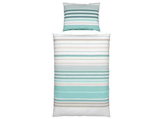 Bettwäsche Samantha - Blau, KONVENTIONELL, Textil - Ombra