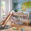 Vysoká Postel Z Masivu Toby - čiré, Moderní, dřevo (207/218/110cm)