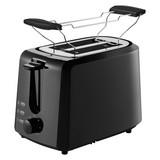 Toaster Ta 4620 - Schwarz, Basics, Metall (28/18/17cm) - Grundig
