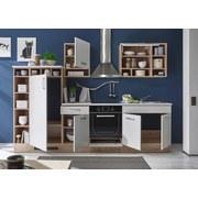 Kuchyňský Blok Madeira - bílá/barvy dubu, Moderní, kompozitní dřevo (290/206/60cm)