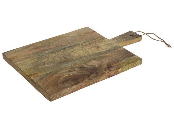 Doska Na Krájanie Manu - prírodné farby, drevo (30/45/2cm)