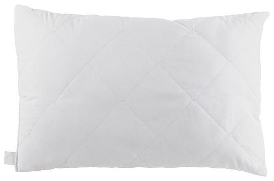 Párna Conny - fehér, konvencionális, textil (40/60cm)