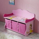 Dětská Lavice Alisa - růžová, Moderní, dřevěný materiál (69/50/30cm) - Mömax modern living