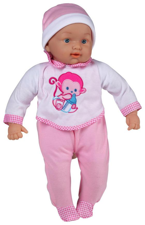 Babypuppe inkl. Doktorset - Rosa/Weiß, MODERN, Kunststoff (43cm)