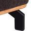 Wohnlandschaft Merano L-Form 247x166 cm - Dunkelbraun/Schwarz, MODERN, Textil (247/166cm) - Luca Bessoni