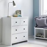 Komoda Jessie - bílá, Moderní, dřevěný materiál (80/81/39cm) - MODERN LIVING