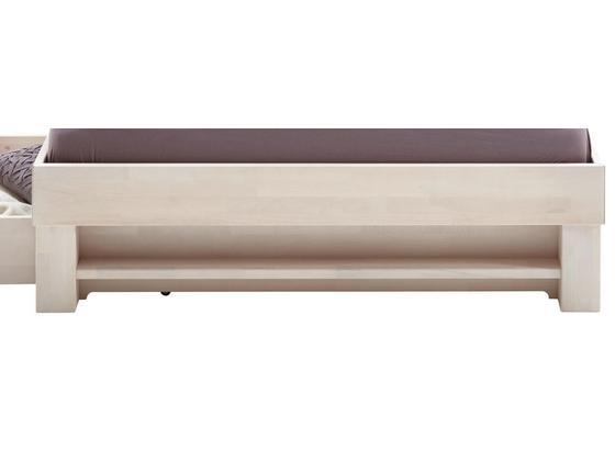 Regál Julia 140cm - bílá, Konvenční, dřevo (120/21/10cm)