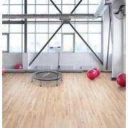 Fitnesstrampolin Power Gym - Schwarz/Grau, Kunststoff/Metall (101,6/22cm) - Homezone