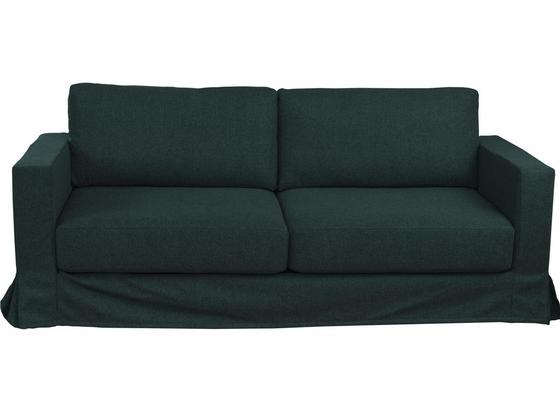 Dreisitzer-Sofa Thomas B: 208 cm Anthrazit - Anthrazit, Basics, Textil (208/90/94cm)