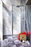 Glas Flügeltür mit Seitenwand Sanoflex Grande 51,4cm/ 127cm - MODERN, Glas (127-129/195cm)