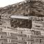 Regalkorb Jandra - Grau, ROMANTIK / LANDHAUS, Kunststoff/Metall (40/18/30cm) - James Wood