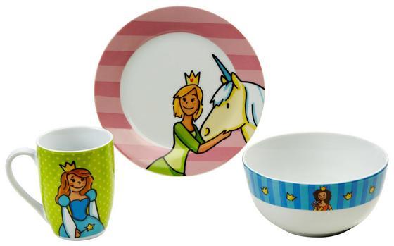Kindergeschirrset Ludo - Multicolor, KONVENTIONELL, Keramik - James Wood