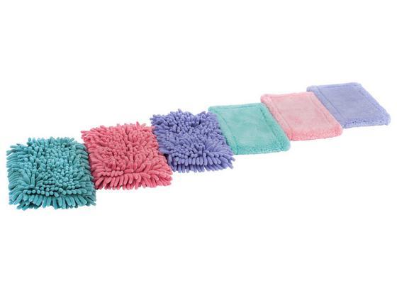 Ersatzbezug Clean - Blau/Rosa, KONVENTIONELL, Textil (44/13cm) - Homezone