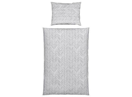 Bettwäsche Antonela - Cooltex - Grau, MODERN, Textil - Luca Bessoni