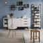 Odkládací Stolek Mailo 2-exklusiv/sb- - bílá/barvy dubu, Moderní, dřevo/kompozitní dřevo (48/48cm) - Modern Living