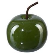 Dekofrucht Ø 7 cm - Grün, MODERN, Keramik (7/6cm)